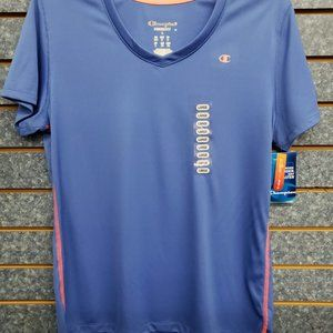 CHAMPION BLUE SHIRT WOMANS SIZE L